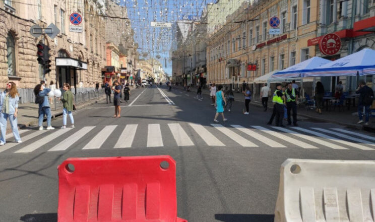 Харків'яни просять Терехова зробити Сумську пішохідною у вихідні та свята